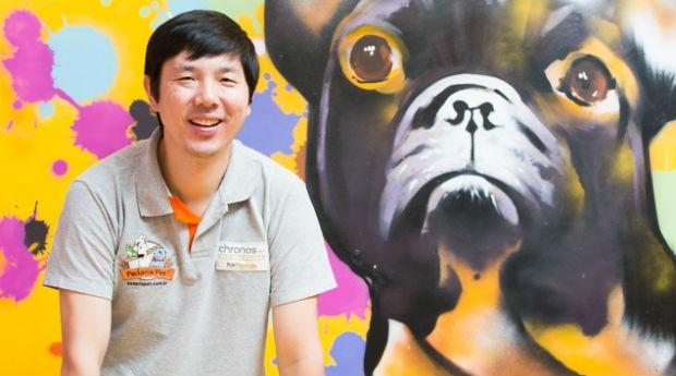 O empresário Rodrigo Chen, da Padaria Pet: crescimento planejado em meio à recessão (Foto: Patrícia Cruz)