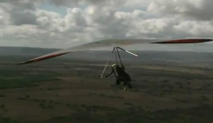 Tacima, asa delta, paraíba (Foto: Reprodução / TV Cabo Branco)