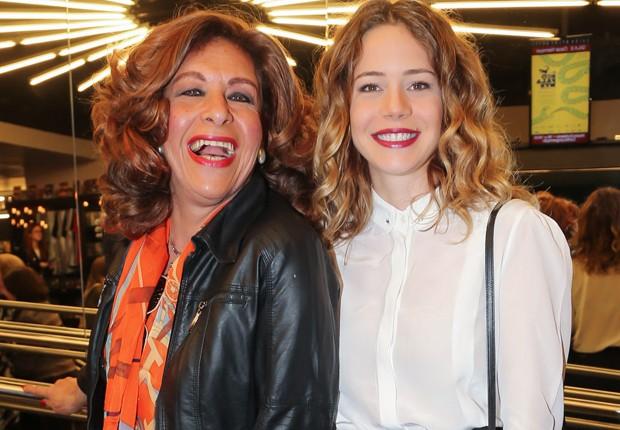 Divina Valéria e Leandra Leal (Foto: Manuela Scarpa/Brazil News)