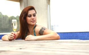 Angelica Morango posa para o EGO (Foto: Iwi Onodera/EGO)
