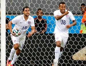 Julian Green gol jogo Estados Unidos x Bélgica Arena Fonte Nova (Foto: Reuters)