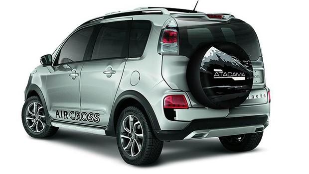 Citroën lança edição Atacama do Aircross (Foto: Divulgação)