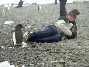 Bill Passman na Antártica (Foto: Arquivo pessoal/Bill Passman)