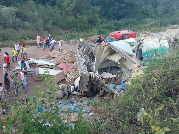 Acidente em Arcoverde (Foto: Divulgação)
