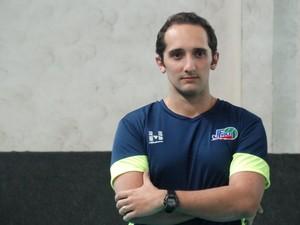 Henrique Furtado Juiz de Fora vôlei técnico (Foto: Bruno Ribeiro)