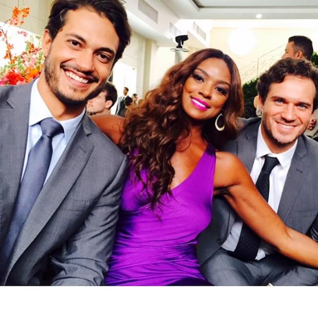 Raphael Viana, Cris Vianna e Paulo Rocha (Foto: Instagram)
