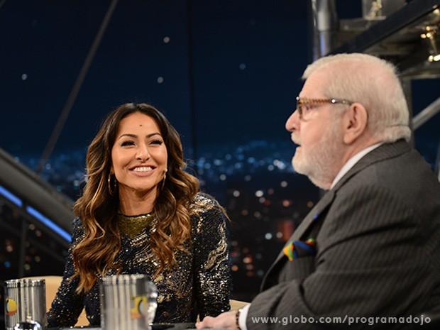 Sabrina Sato participa do Programa do Jô desta quinta-feira (Foto: TV Globo/Programa do Jô)