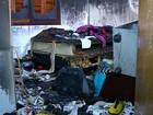 Incêndio destrói dois cômodos de casa em Erechim, RS