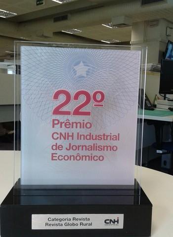 prêmio_Caminhos da Safra (Foto: Editora Globo)