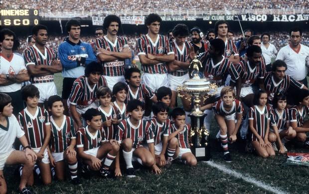 fluminense 1984 campeão (Foto: Agência Globo)