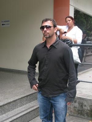 Marcelo Faria deixa JECrim, no Rio (Foto: Tássia Thum/G1)