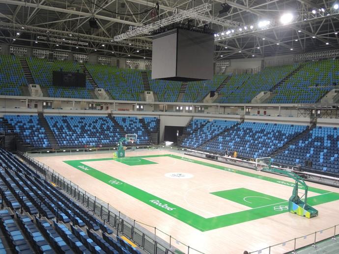 Arena Carioca 1 (Foto: GloboEsporte.com)