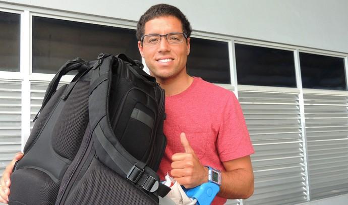 Adriano de Souza Mineirinho Florianópolis (Foto: Marcelo Silva)