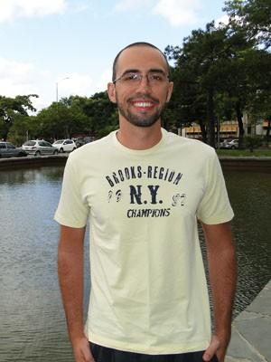Gabriel Moreira Alves Reis ficou com o 4º lugar geral (Foto: Alex Araújo/G1)