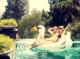 Calvin Harris e Taylor Swift (Foto: Instagram / Reprodução)