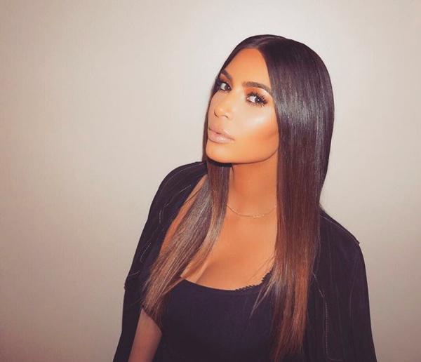 A celebridade Kim Kardashian (Foto: Instagram)