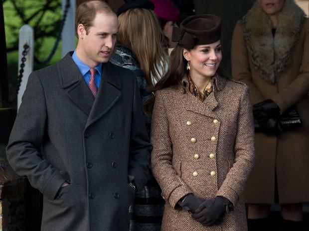 O Príncipe William e a Duquesa de Cambridge, Kate Middleton (Foto: Matt Dunham/AP)