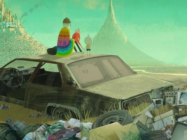 O Menino e o Mundo mostra visão de um garoto do campo sobre a cidade (Foto: Divulgação/ Ascom Sesc TO)