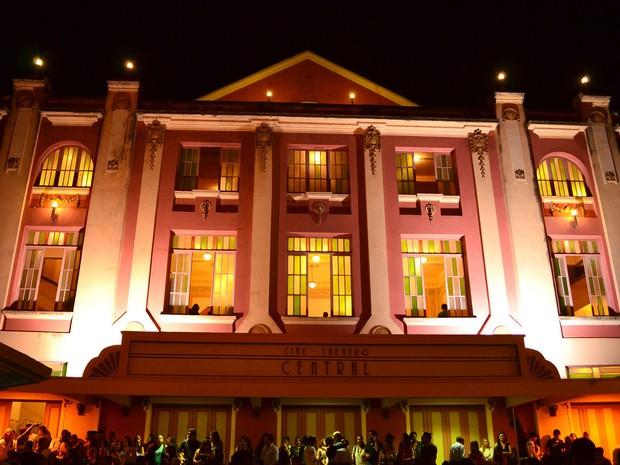 Cine-Theatro Central em Juiz de Fora (Foto: Cine-Theatro Central/Divulgação)