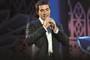 Padre Fábio de Melo durante show de seu novo DVD, 'Queremos Deus'