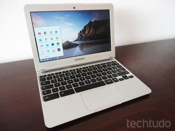 ChromeOS é específico para os Chromebooks e computadores homologados pelo Google (Foto: Paulo Alves/TechTudo)