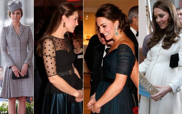 Kate Middleton-gravidez (Foto: Reuters/AFP)