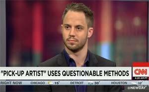 Julien Blanc dá entrevista à rede CNN (Foto: Reprodução/CNN)