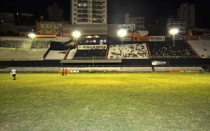 Estádio Sumaré, em Cachoeiro de Itapemirim (Foto: Sidney Magno Novo/GloboEsporte.com)