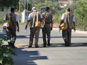 Cerca de 30 agêntes percorão a cidade (Foto: Assessoria Prefeitura/Divulgação)