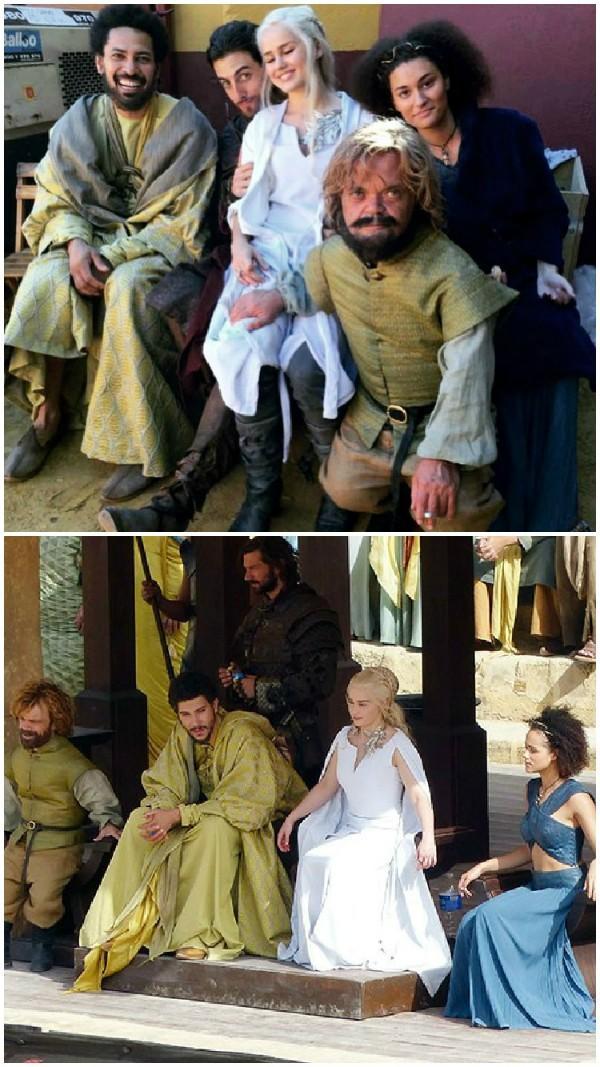 Os dublês de 'Game of Thrones' (Foto: Reprodução)