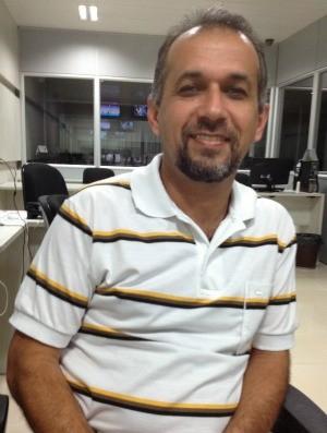 Aluizio Vidal, candidato pelo PSOL (Foto: Taísa Arruda/G1)