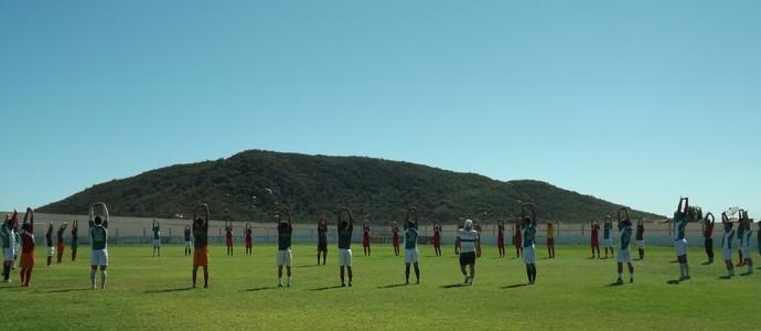Internacional de Teixeira, Internacional, Estádio, Seletiva (Foto: Hévilla Wanderley / GloboEsporte.com/pb)