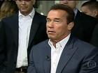 Schwarzenegger reúne homens mais musculosos do mundo no Rio