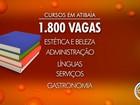 Programa de capacitação profissional abre mais de 1,8 mil vagas em Atibaia
