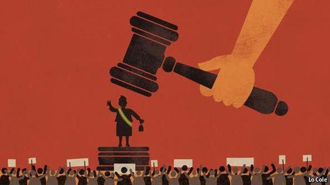 A imagem que ilustra o editorial desta semana da Economist (Foto: The Economist)