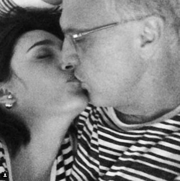 Maria Prata e Pedro Bial (Foto: Reprodução/Instagram)