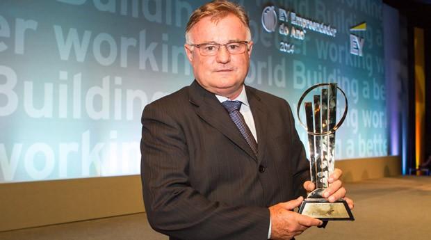 O empreendedor Eraí Maggi Scheffer vence prêmio da EY e disputará o World Entrepreneur of the Year (Foto: EY)
