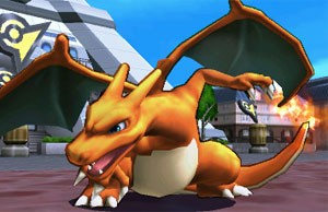 Charizard, novo lutador de 'Super Smash Bros.' na versão para o 3DS (Foto: Divulgação/Nintendo)