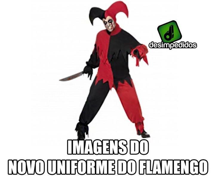 Zoação camisa Flamengo
