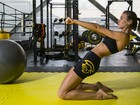 Renata Kuerten mostra seu treino de luta para o EGO