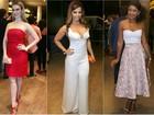 Fernanda Keulla é eleita a mais bem-vestida em prêmio de TV