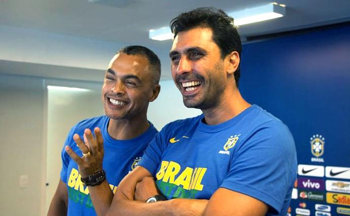 Dodô e Athirson (Foto: Divulgação / CBF)