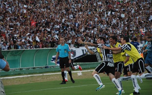 Botafogo-PB conquista o título Brasileiro da Série D (Foto: Silas Batista / Globoesporte.com/pb)