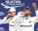 Hamilton, pole à Senna