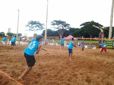 Beach Tennis Campo Grande (Foto: Divulgação/LBTCGMS)