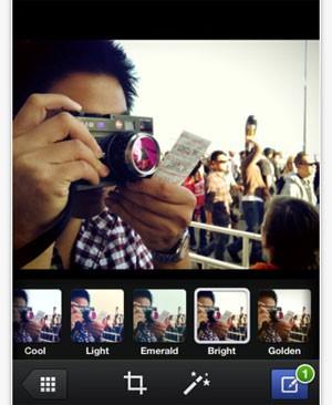 Aplicativo Facebook Camera permite colocar filtros e editar imagens antes de publicá-las na rede social (Foto: Divulgação)