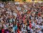 Professores fazem ato e bloqueiam vias da região central de São Paulo