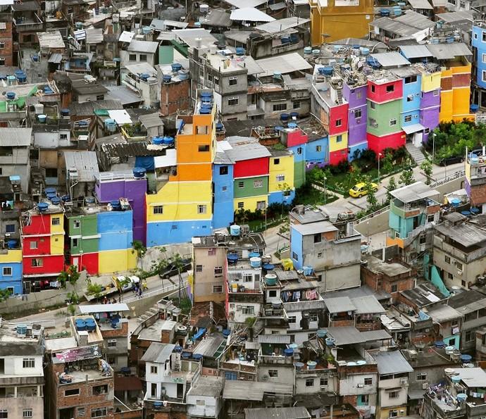 Favela da Rocinha (Foto: Marcia Foletto)