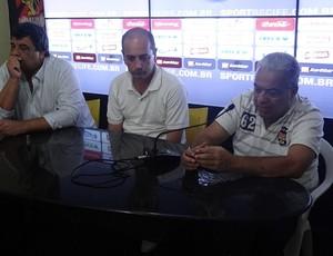 aloísio maluf cícero souza guilherme beltrão (Foto: Daniel Santana / GloboEsporte.com)