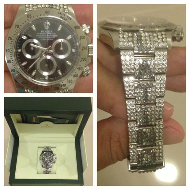 Latino posta foto de relógio Rolex (Foto: Instagram / Reprodução)
